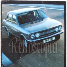 Coches y Motocicletas: CATALOGO DESPLEGABLE PUBLICIDAD SEAT 132 AÑO 1974 EN CASTELLANO. Lote 258235480