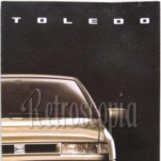 Coches y Motocicletas: CATALOGO DESPLEGABLE PUBLICIDAD SEAT TOLEDO AÑOS 90 EN CASTELLANO. Lote 143437808