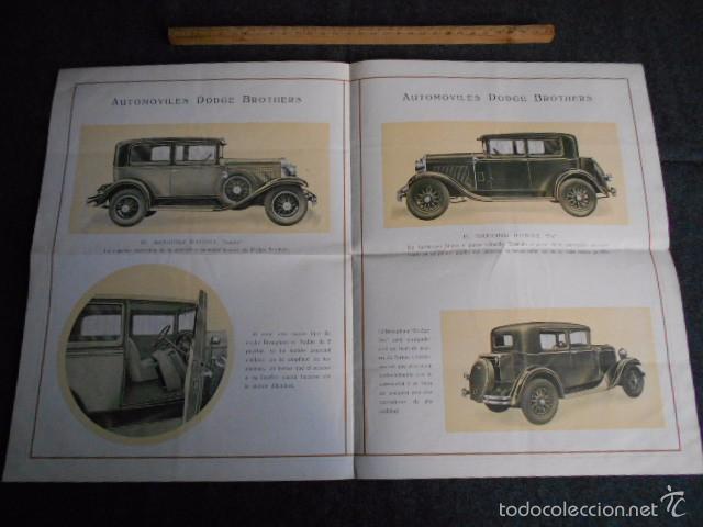 Coches y Motocicletas: dodge brothers. catálogo con buenas fotos con sus características mecánica y confort interior. - Foto 3 - 58585858
