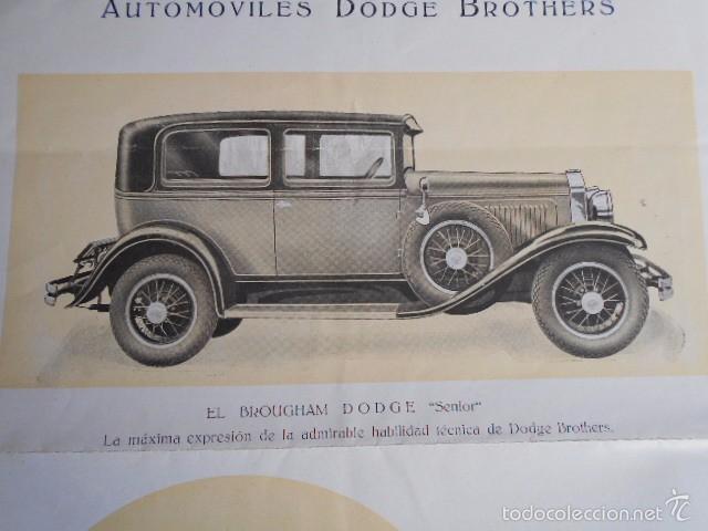 Coches y Motocicletas: dodge brothers. catálogo con buenas fotos con sus características mecánica y confort interior. - Foto 6 - 58585858