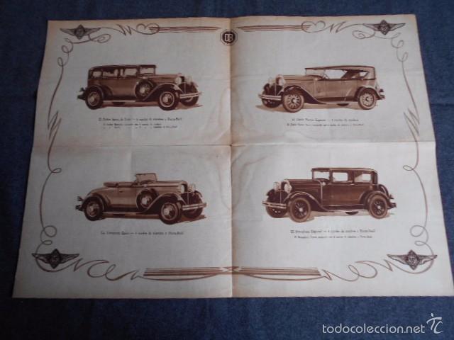 Coches y Motocicletas: Dodge six Catálogo póster con Fotos y características. En castellano - Foto 3 - 58586109