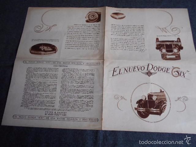 Coches y Motocicletas: Dodge six Catálogo póster con Fotos y características. En castellano - Foto 4 - 58586109