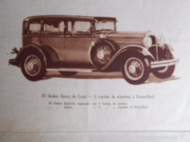 Coches y Motocicletas: Dodge six Catálogo póster con Fotos y características. En castellano - Foto 5 - 58586109