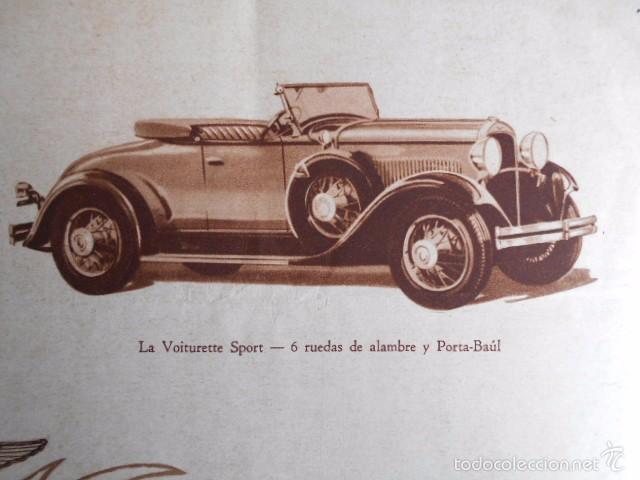 Coches y Motocicletas: Dodge six Catálogo póster con Fotos y características. En castellano - Foto 6 - 58586109