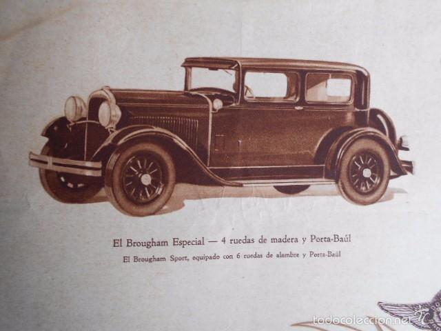 Coches y Motocicletas: Dodge six Catálogo póster con Fotos y características. En castellano - Foto 8 - 58586109