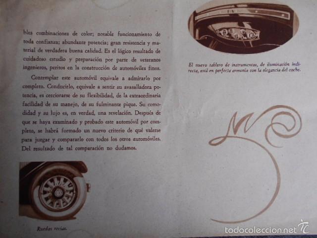 Coches y Motocicletas: Dodge six Catálogo póster con Fotos y características. En castellano - Foto 9 - 58586109