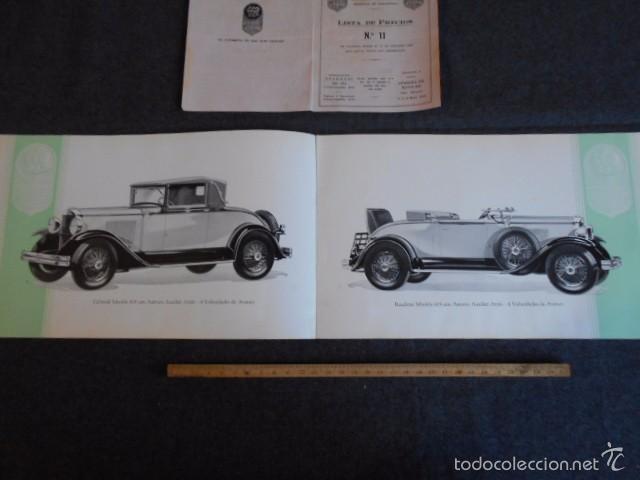 Coches y Motocicletas: Graham Paige 6 y 8 cilindros lujoso catálogo con todos los modelos. En castellano. excelente - Foto 6 - 58587893