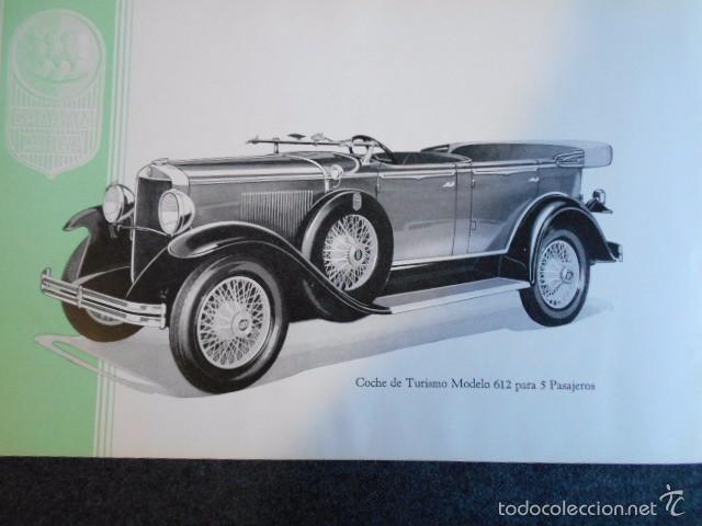 Coches y Motocicletas: Graham Paige 6 y 8 cilindros lujoso catálogo con todos los modelos. En castellano. excelente - Foto 18 - 58587893