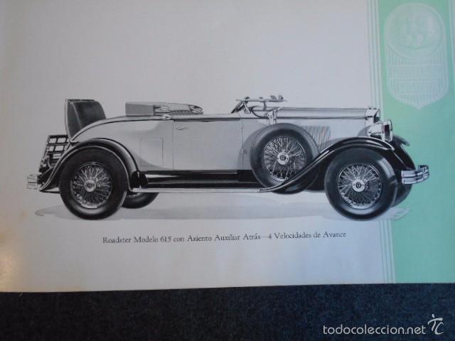 Coches y Motocicletas: Graham Paige 6 y 8 cilindros lujoso catálogo con todos los modelos. En castellano. excelente - Foto 21 - 58587893