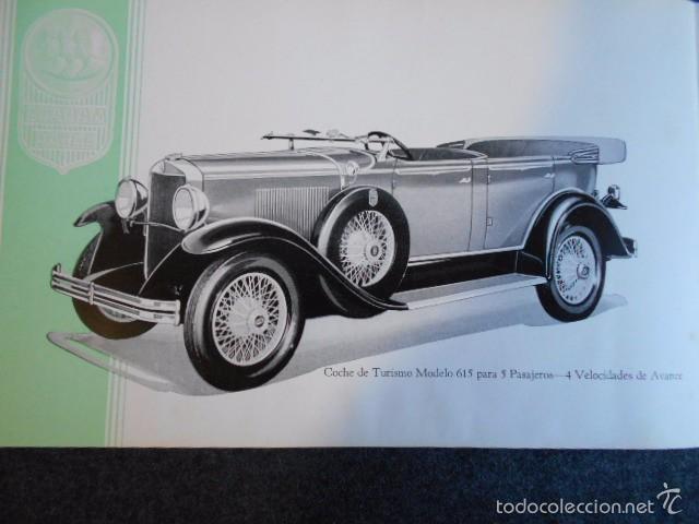 Coches y Motocicletas: Graham Paige 6 y 8 cilindros lujoso catálogo con todos los modelos. En castellano. excelente - Foto 22 - 58587893