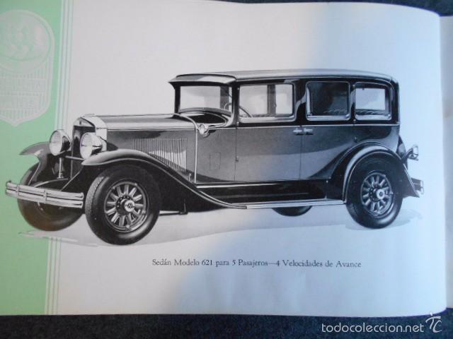 Coches y Motocicletas: Graham Paige 6 y 8 cilindros lujoso catálogo con todos los modelos. En castellano. excelente - Foto 24 - 58587893