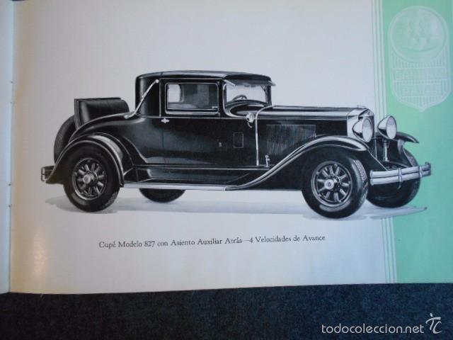 Coches y Motocicletas: Graham Paige 6 y 8 cilindros lujoso catálogo con todos los modelos. En castellano. excelente - Foto 27 - 58587893