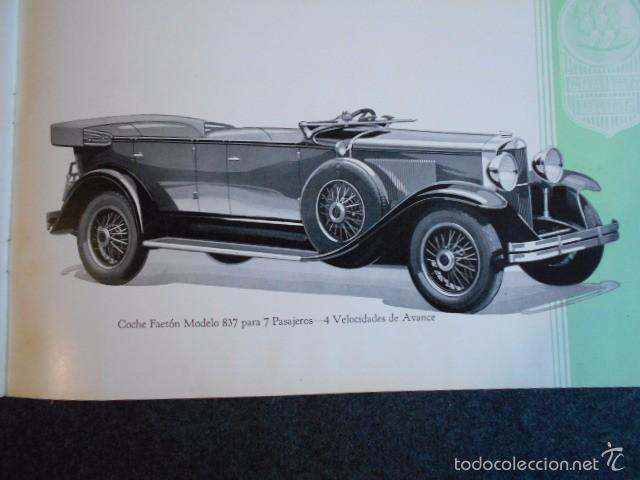 Coches y Motocicletas: Graham Paige 6 y 8 cilindros lujoso catálogo con todos los modelos. En castellano. excelente - Foto 29 - 58587893