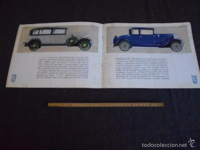 RIO FYING CLOUD CATÁLOGO 1929 TODOS LOS MODELOS DE COCHES Y LISTA DE PRECIOS BUENOS AIRES (Coches y Motocicletas Antiguas y Clásicas - Catálogos, Publicidad y Libros de mecánica)