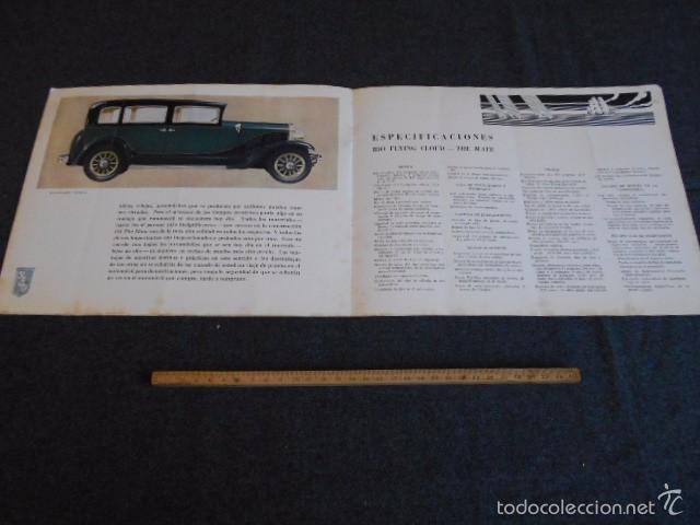 Coches y Motocicletas: rio fying cloud catálogo 1929 todos los modelos de coches y lista de precios Buenos Aires - Foto 5 - 58587959