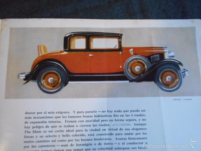 Coches y Motocicletas: rio fying cloud catálogo 1929 todos los modelos de coches y lista de precios Buenos Aires - Foto 7 - 58587959