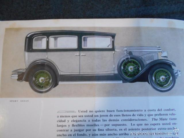 Coches y Motocicletas: rio fying cloud catálogo 1929 todos los modelos de coches y lista de precios Buenos Aires - Foto 8 - 58587959