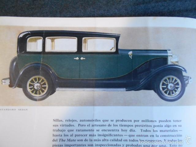 Coches y Motocicletas: rio fying cloud catálogo 1929 todos los modelos de coches y lista de precios Buenos Aires - Foto 10 - 58587959