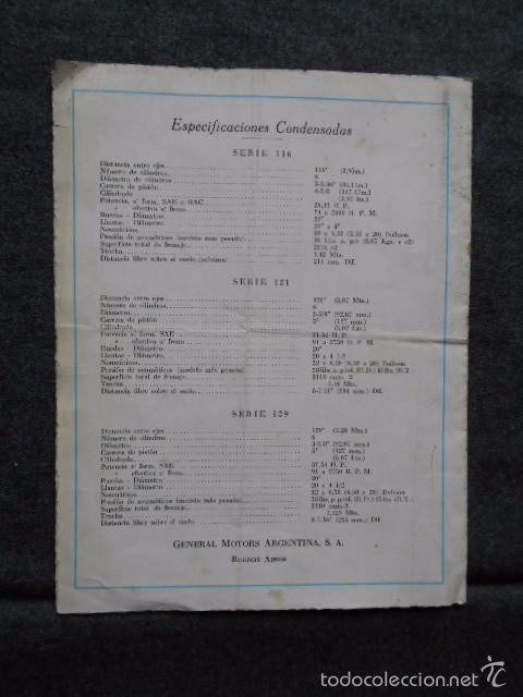 Coches y Motocicletas: buick 1904 1929 General Motors 25 años en coches abiertos + lista de precios - Foto 3 - 58612881