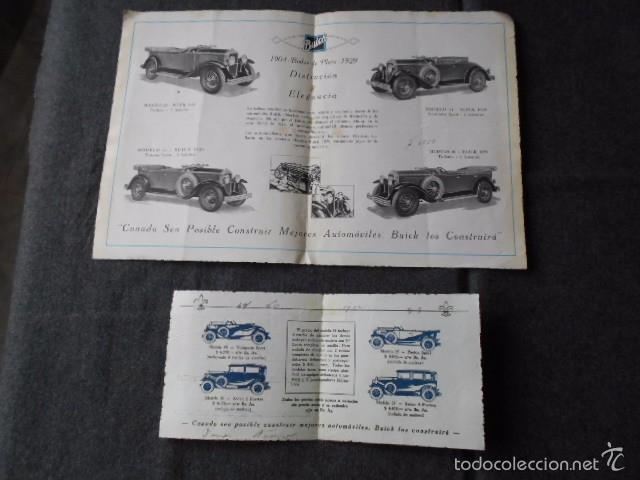 Coches y Motocicletas: buick 1904 1929 General Motors 25 años en coches abiertos + lista de precios - Foto 4 - 58612881