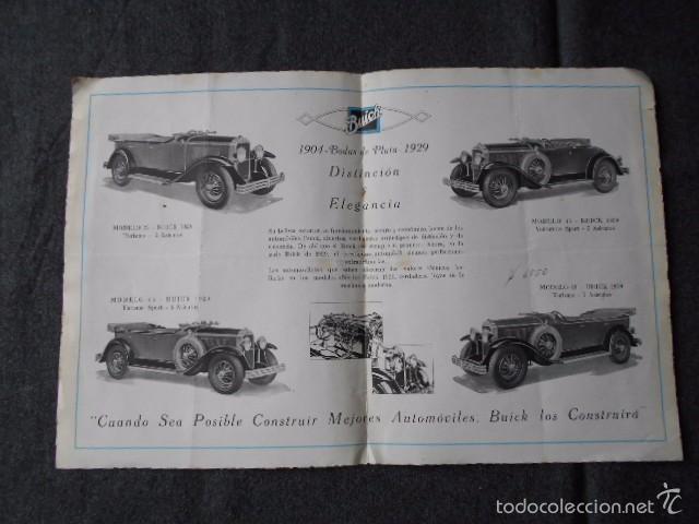 Coches y Motocicletas: buick 1904 1929 General Motors 25 años en coches abiertos + lista de precios - Foto 6 - 58612881
