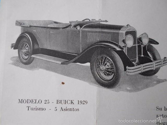Coches y Motocicletas: buick 1904 1929 General Motors 25 años en coches abiertos + lista de precios - Foto 8 - 58612881