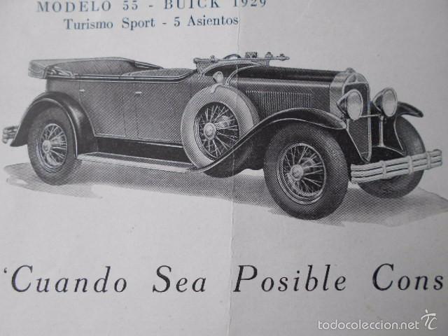 Coches y Motocicletas: buick 1904 1929 General Motors 25 años en coches abiertos + lista de precios - Foto 9 - 58612881
