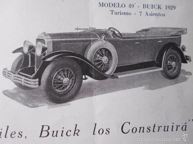 Coches y Motocicletas: buick 1904 1929 General Motors 25 años en coches abiertos + lista de precios - Foto 10 - 58612881