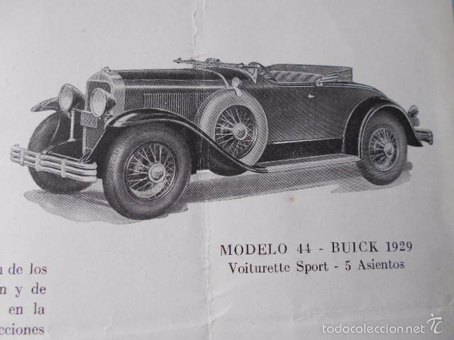 Coches y Motocicletas: buick 1904 1929 General Motors 25 años en coches abiertos + lista de precios - Foto 11 - 58612881