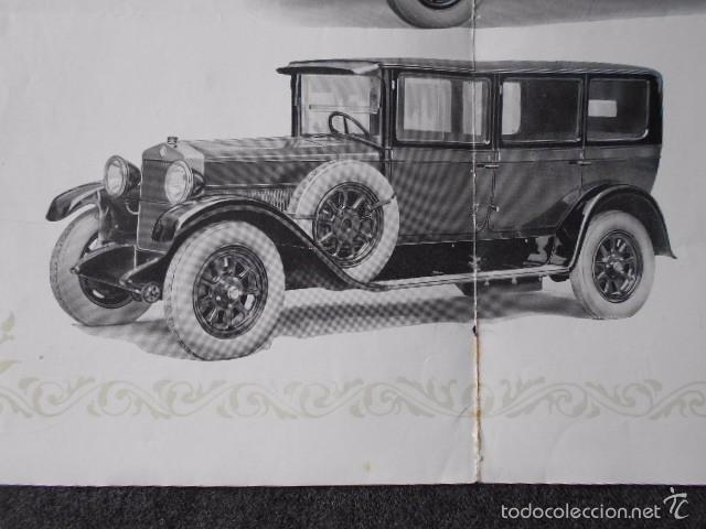 Coches y Motocicletas: fiat 512 1927 Catálogo Desplegable En Póster. En castellano - Foto 3 - 58617653