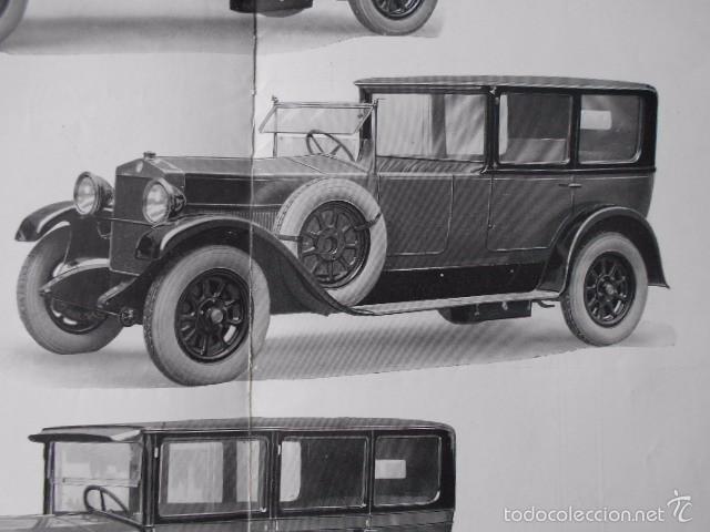 Coches y Motocicletas: fiat 512 1927 Catálogo Desplegable En Póster. En castellano - Foto 4 - 58617653