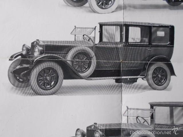 Coches y Motocicletas: fiat 512 1927 Catálogo Desplegable En Póster. En castellano - Foto 5 - 58617653