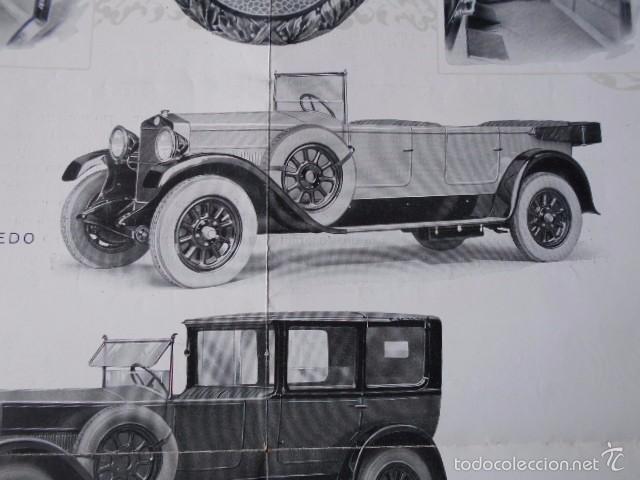 Coches y Motocicletas: fiat 512 1927 Catálogo Desplegable En Póster. En castellano - Foto 6 - 58617653