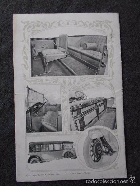 Coches y Motocicletas: fiat 512 1927 Catálogo Desplegable En Póster. En castellano - Foto 9 - 58617653