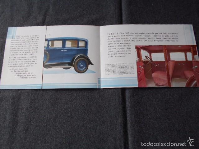 Coches y Motocicletas: fiat 515 Muy lindo Catálogo. En castellano, excelente. - Foto 3 - 58617656