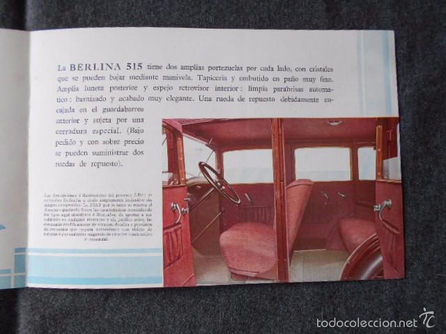 Coches y Motocicletas: fiat 515 Muy lindo Catálogo. En castellano, excelente. - Foto 6 - 58617656