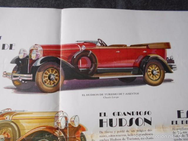 Coches y Motocicletas: hudson essex catálogo póster de auto antiguo en castellano - Foto 4 - 58630134