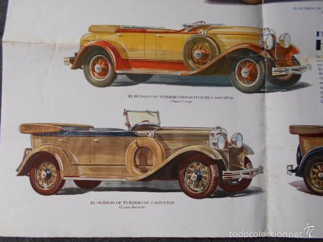 Coches y Motocicletas: hudson essex catálogo póster de auto antiguo en castellano - Foto 5 - 58630134