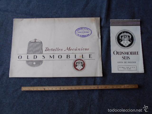 OLDDSMOBILE 1929 CATÁLOGO DE DETALLES MECÁNICOS Y LISTA DE PRECIOS GENERAL MOTORS (Coches y Motocicletas Antiguas y Clásicas - Catálogos, Publicidad y Libros de mecánica)