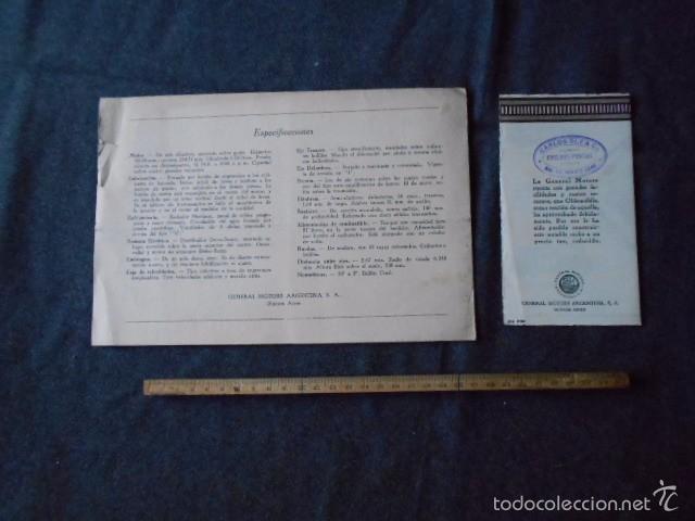 Coches y Motocicletas: Olddsmobile 1929 Catálogo de detalles mecánicos y lista de precios General Motors - Foto 2 - 58642911
