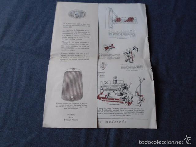 Coches y Motocicletas: Olddsmobile 1929 Catálogo de detalles mecánicos y lista de precios General Motors - Foto 3 - 58642911