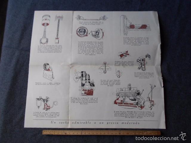 Coches y Motocicletas: Olddsmobile 1929 Catálogo de detalles mecánicos y lista de precios General Motors - Foto 4 - 58642911