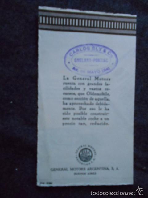 Coches y Motocicletas: Olddsmobile 1929 Catálogo de detalles mecánicos y lista de precios General Motors - Foto 7 - 58642911