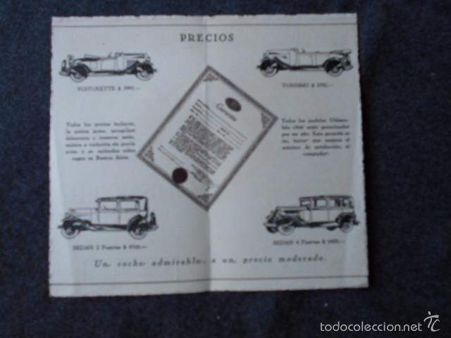 Coches y Motocicletas: Olddsmobile 1929 Catálogo de detalles mecánicos y lista de precios General Motors - Foto 8 - 58642911