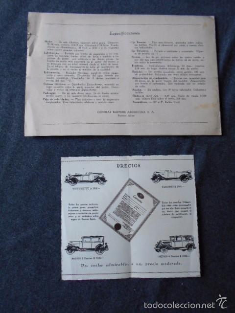 Coches y Motocicletas: Olddsmobile 1929 Catálogo de detalles mecánicos y lista de precios General Motors - Foto 9 - 58642911