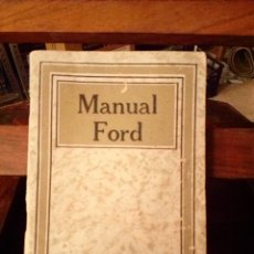 Coches y Motocicletas: MANUAL FORD 1920 . Lote 58666486