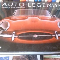 Coches y Motocicletas: AUTO LEGENDS: CLASSICS OF STYLE AND DESIGN ROBERT CUMBERFORD, MICHEL ZUMBRUN- ED. MERRELL 2004 288P. Lote 58727112