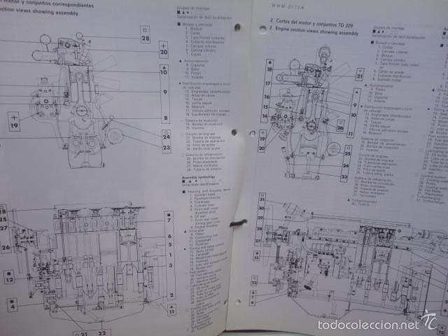 Manual reparacion original motor deutz diter di - Sold