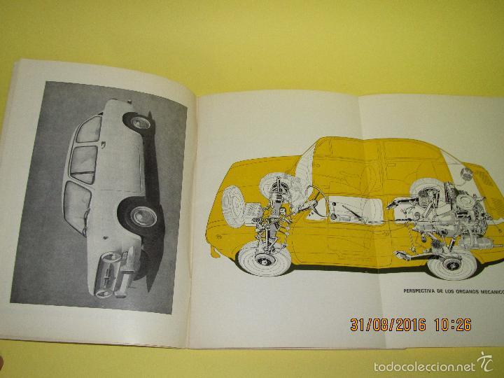 Coches y Motocicletas: Antiguo Manual de Uso y Entretenimiento del SEAT 850 D del Año 1972 - Foto 4 - 59757880
