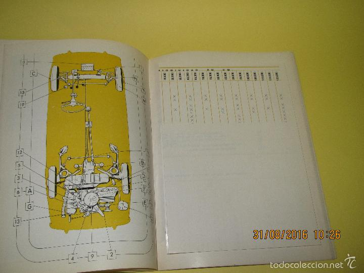 Coches y Motocicletas: Antiguo Manual de Uso y Entretenimiento del SEAT 850 D del Año 1972 - Foto 5 - 59757880